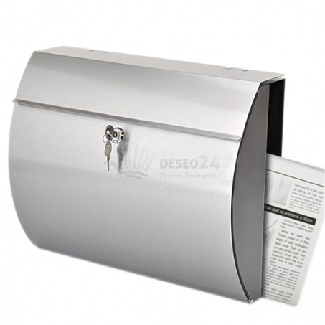 Poštovní schránka z nerez oceli - typ 06