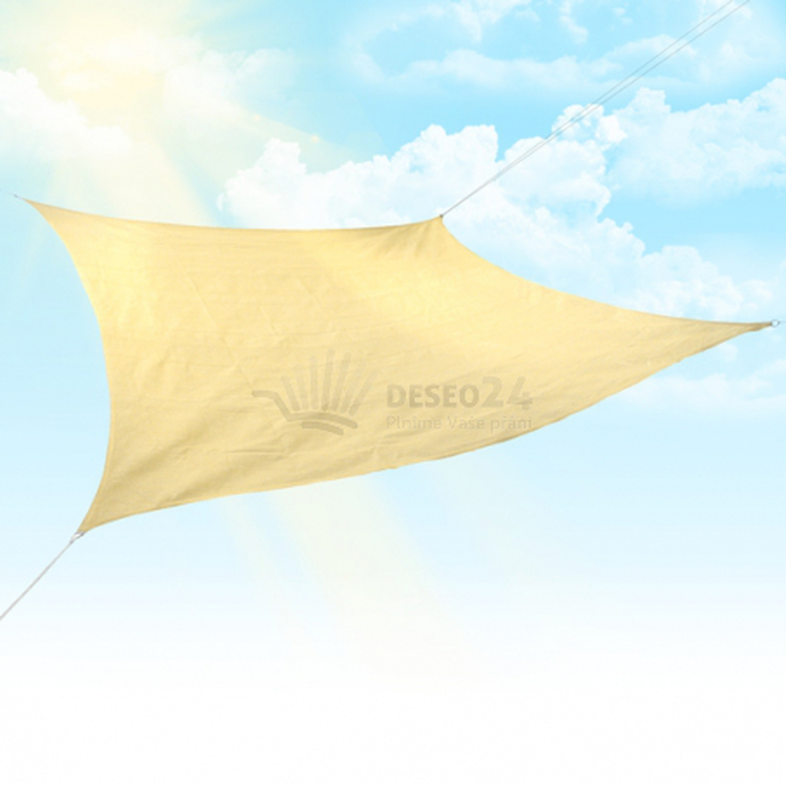 Sluneční plachta 5 x 5 m