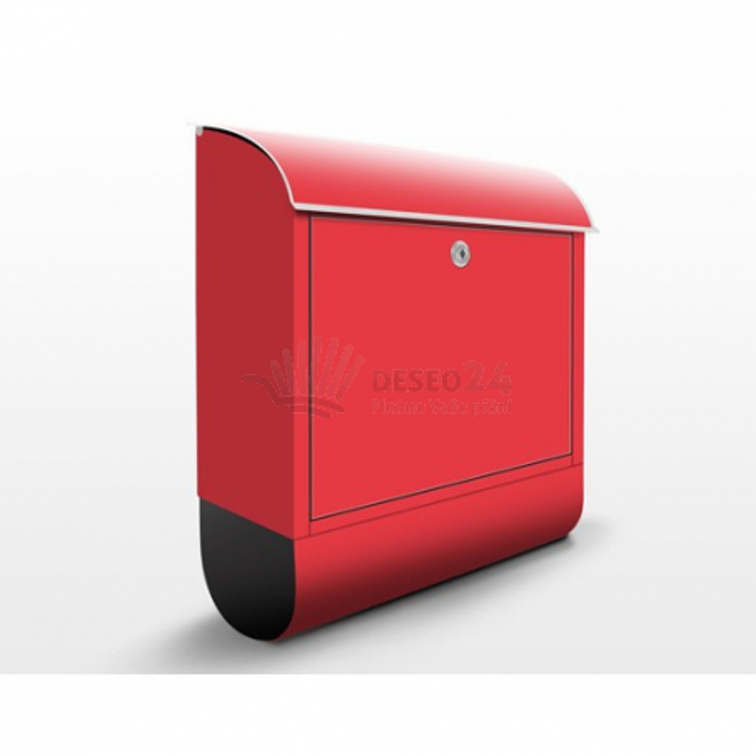 Poštovní schránka s potiskem Červená