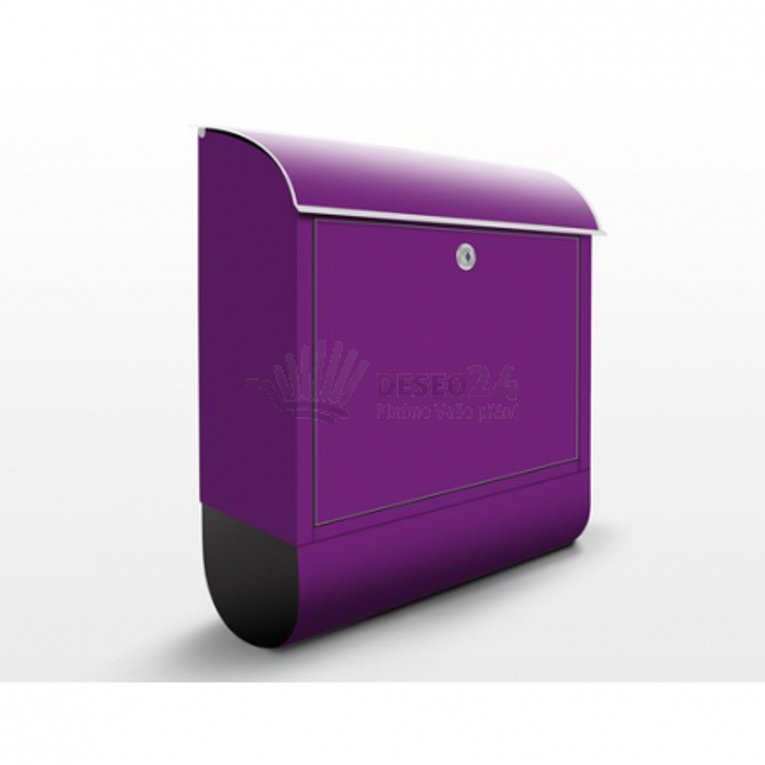 Poštovní schránka s potiskem Fialová