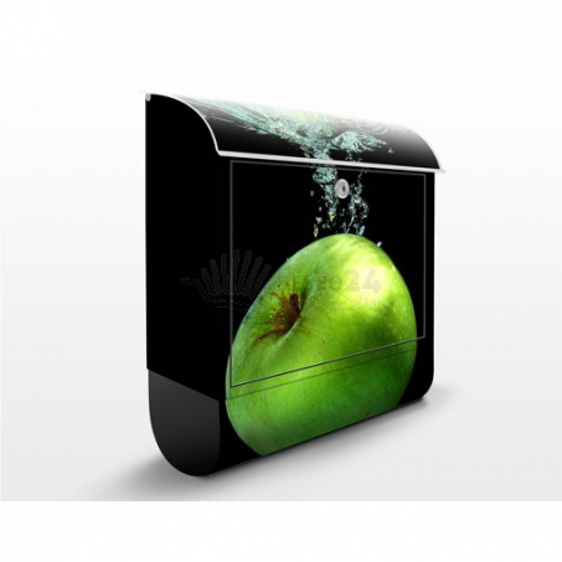 Poštovní schránka s potiskem Šplouchnutí jablka
