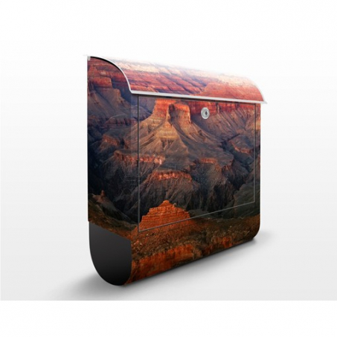 Poštovní schránka s potiskem Grand Canyon po západu slunce