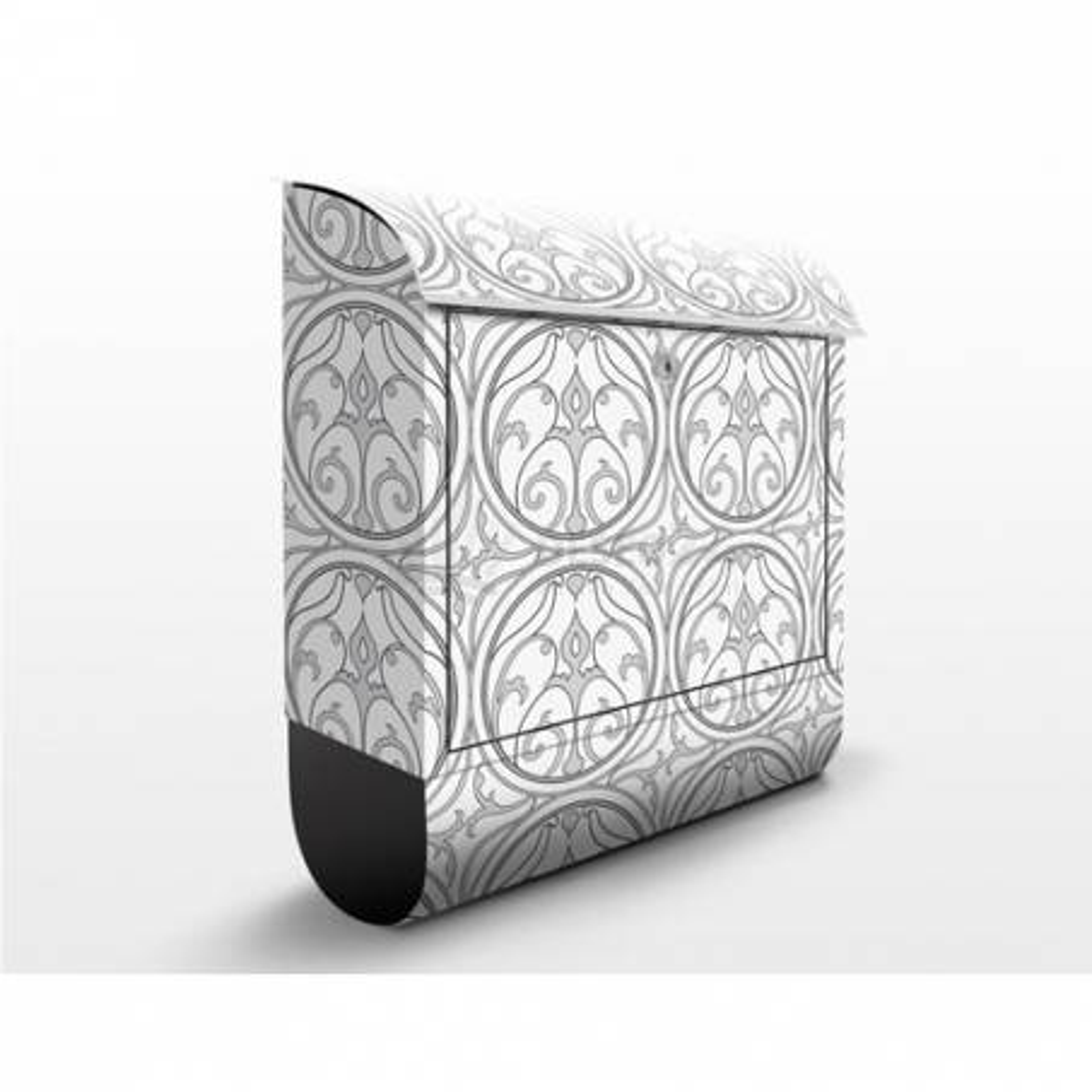 Poštovní schránka s potiskem Ornamenty - tvary č. 024