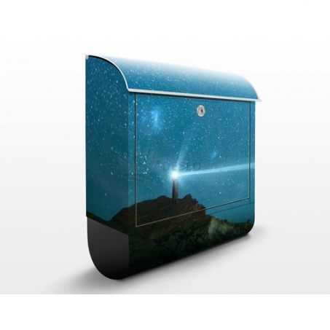 Poštovní schránka s potiskem Maják