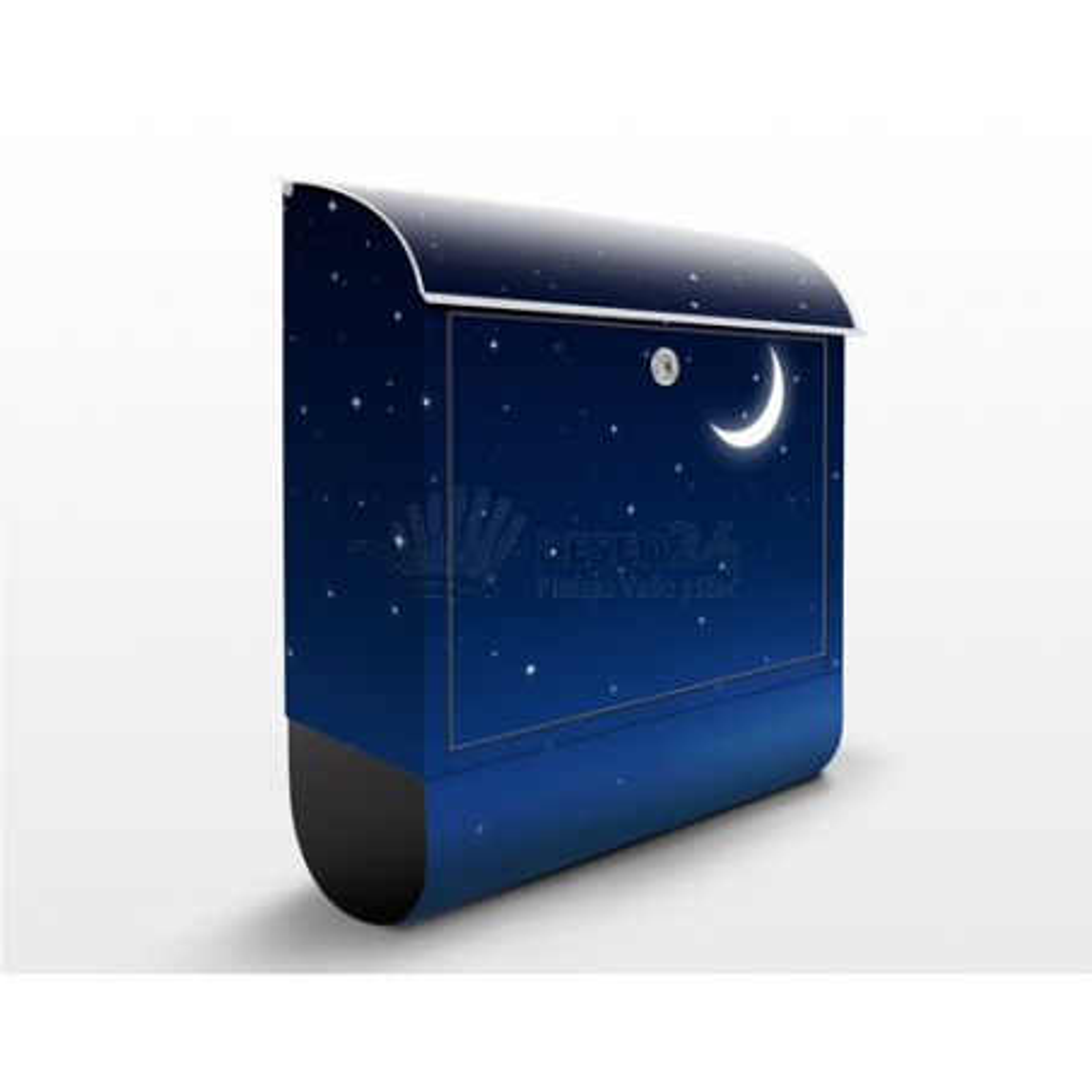Poštovní schránka s potiskem Noční obloha