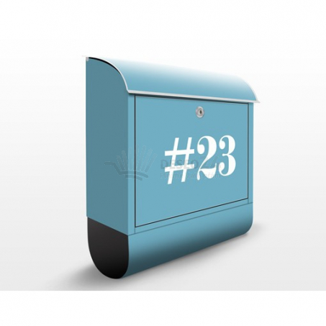 Poštovní schránka s potiskem Negativ (JS317) a vlastním textem