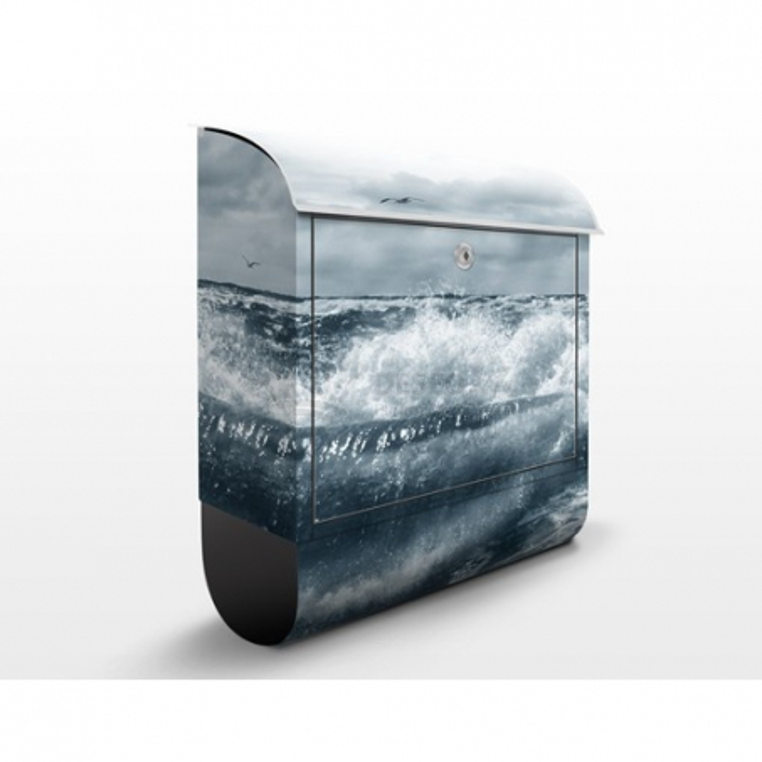 Poštovní schránka s potiskem Rozbouřené moře (YK6)