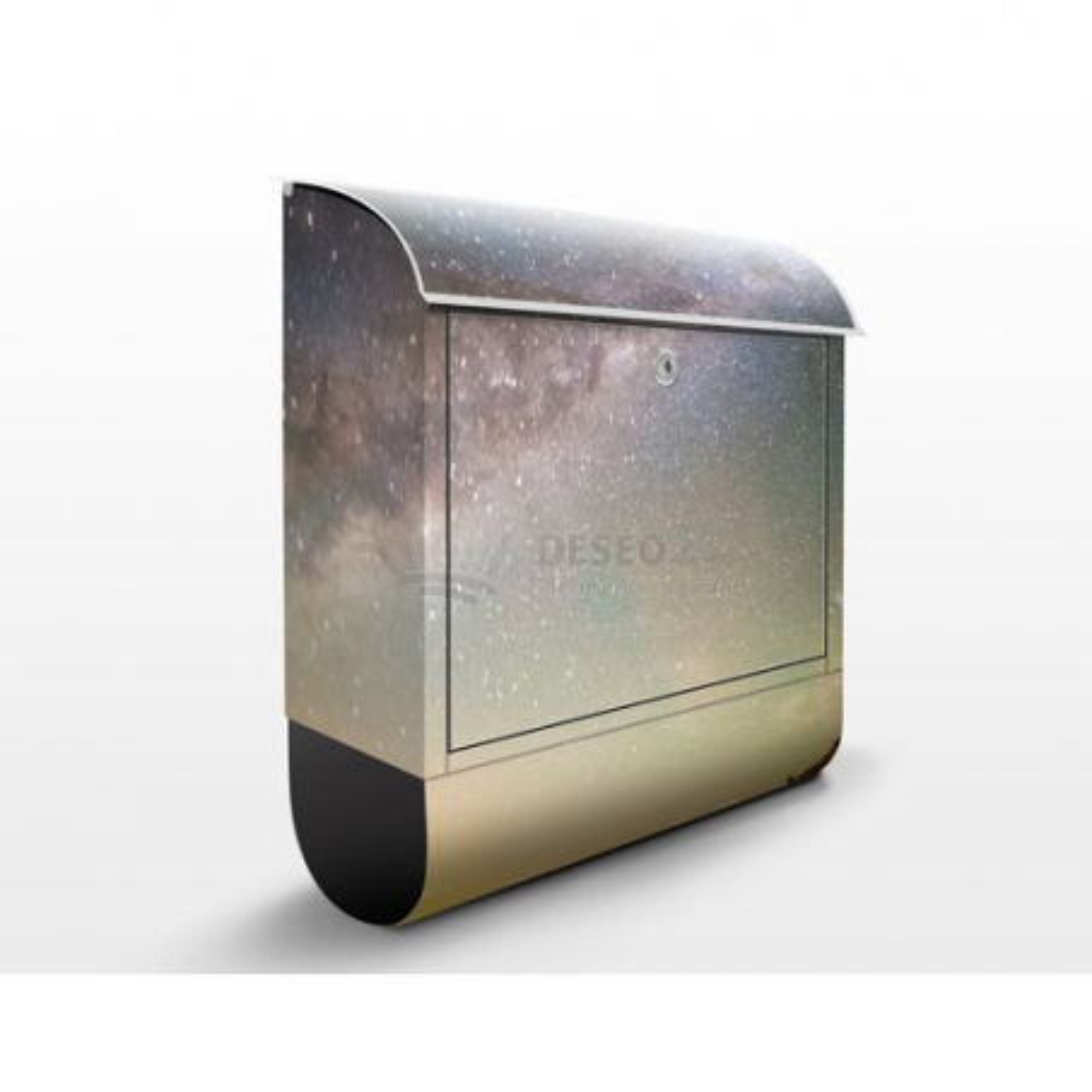 Poštovní schránka s potiskem Noční obloha nad mořem