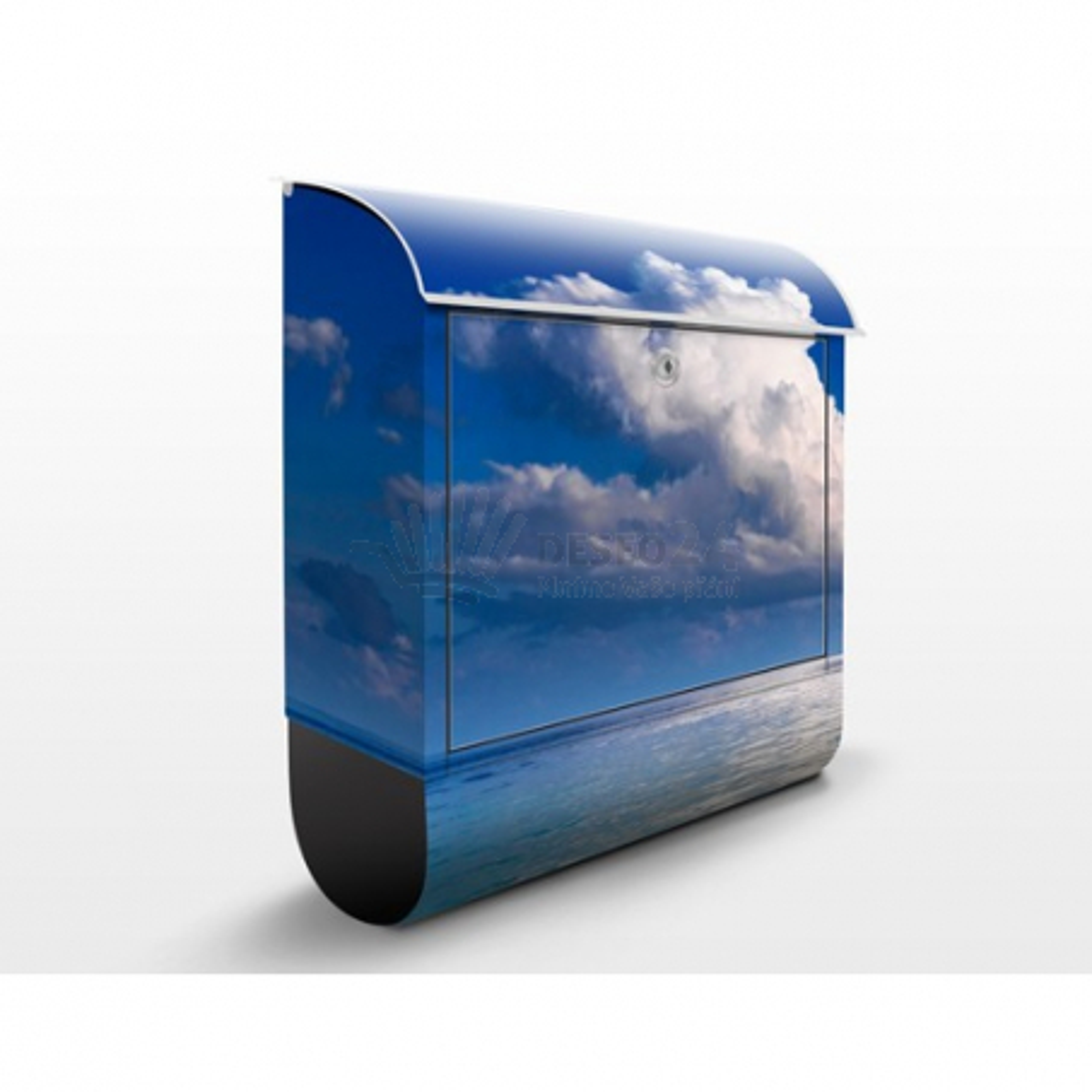 Poštovní schránka s potiskem Turecka laguna