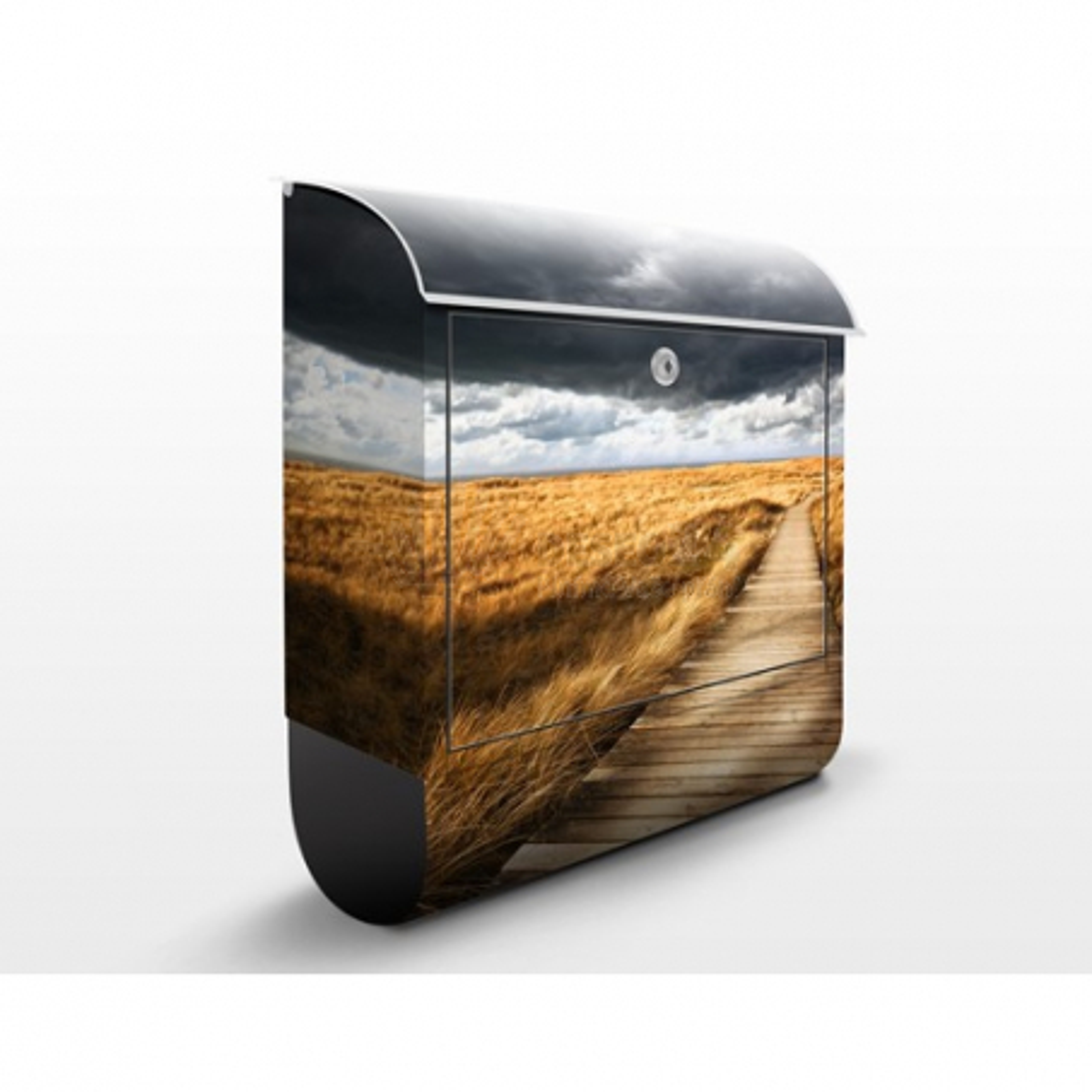 Poštovní schránka s potiskem Cesta v dunách