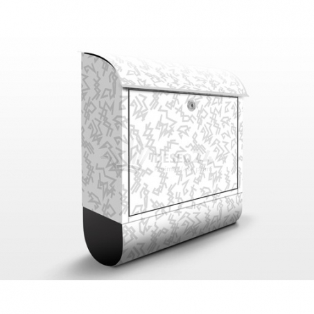Poštovní schránka s potiskem Ornamenty - různé č. 800