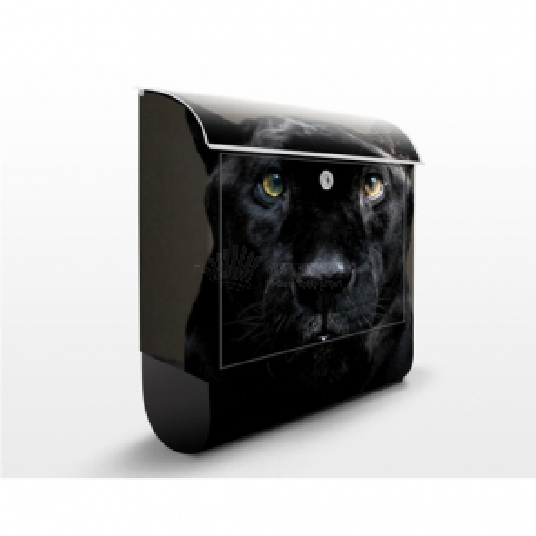 Poštovní schránka s potiskem Black Puma