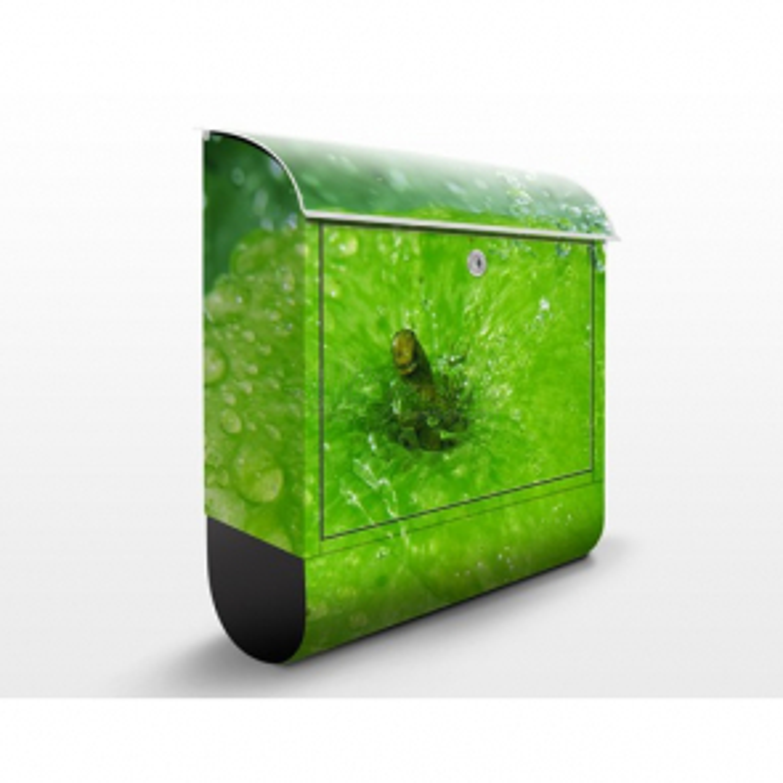 Poštovní schránka s potiskem Zelené jablko