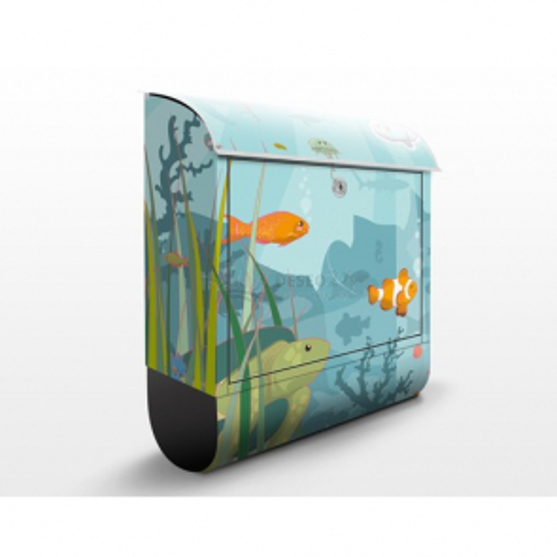 Poštovní schránka s potiskem Podvodní svět II (EK57)
