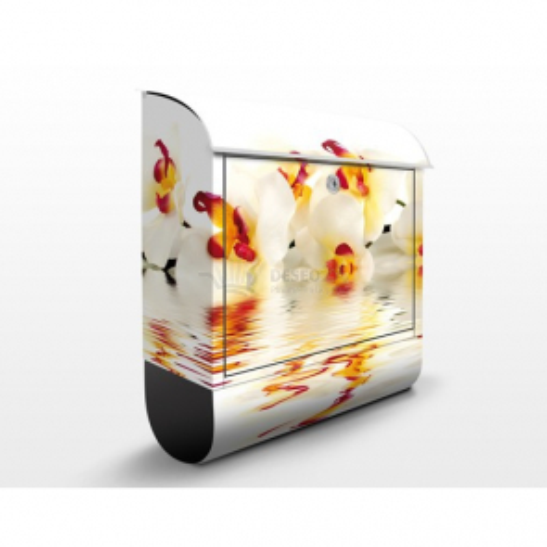 Poštovní schránka s potiskem Úchvatné orchideje na vodě