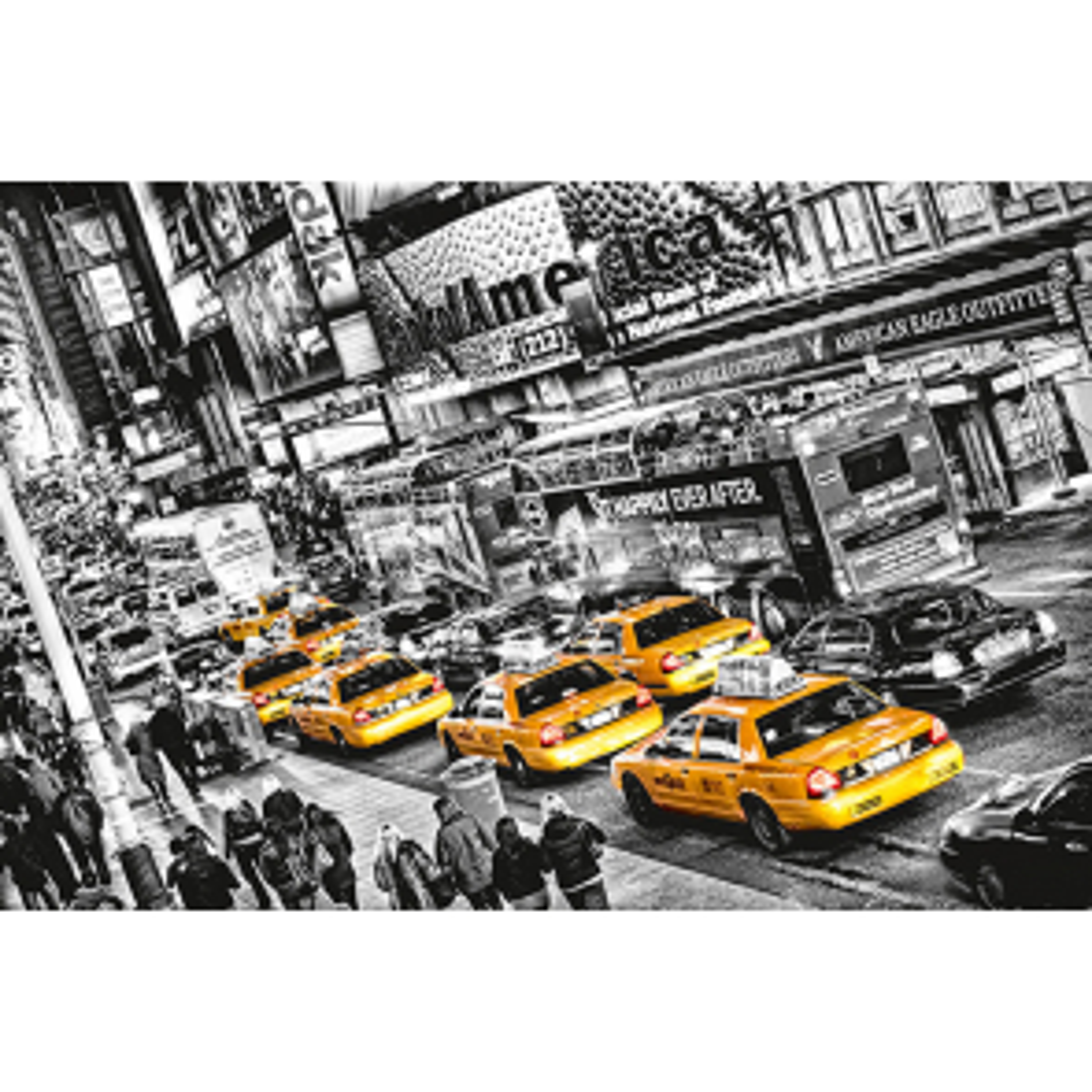 Plakát Giant Art Taxi in New York, 175 x 115 cm