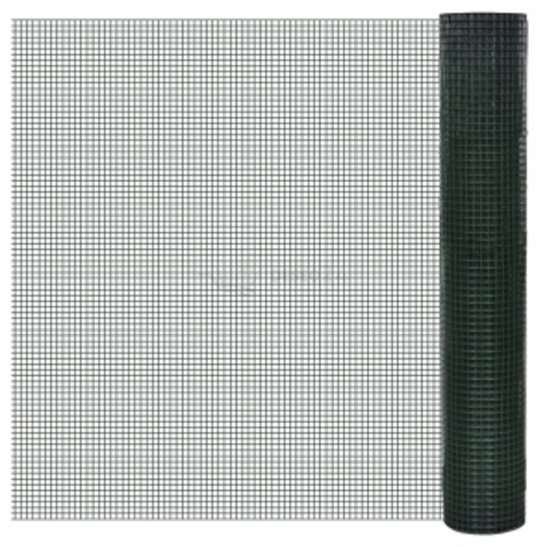 Chovatelské pletivo 1 x 25 m, pozinkované a potažené PVC, oka 19x19 mm