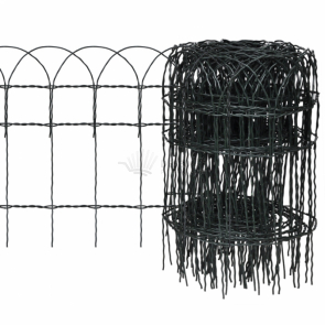 Rozvinovací zahradní plot pro ohraničení trávníků 25 x 0,4 m