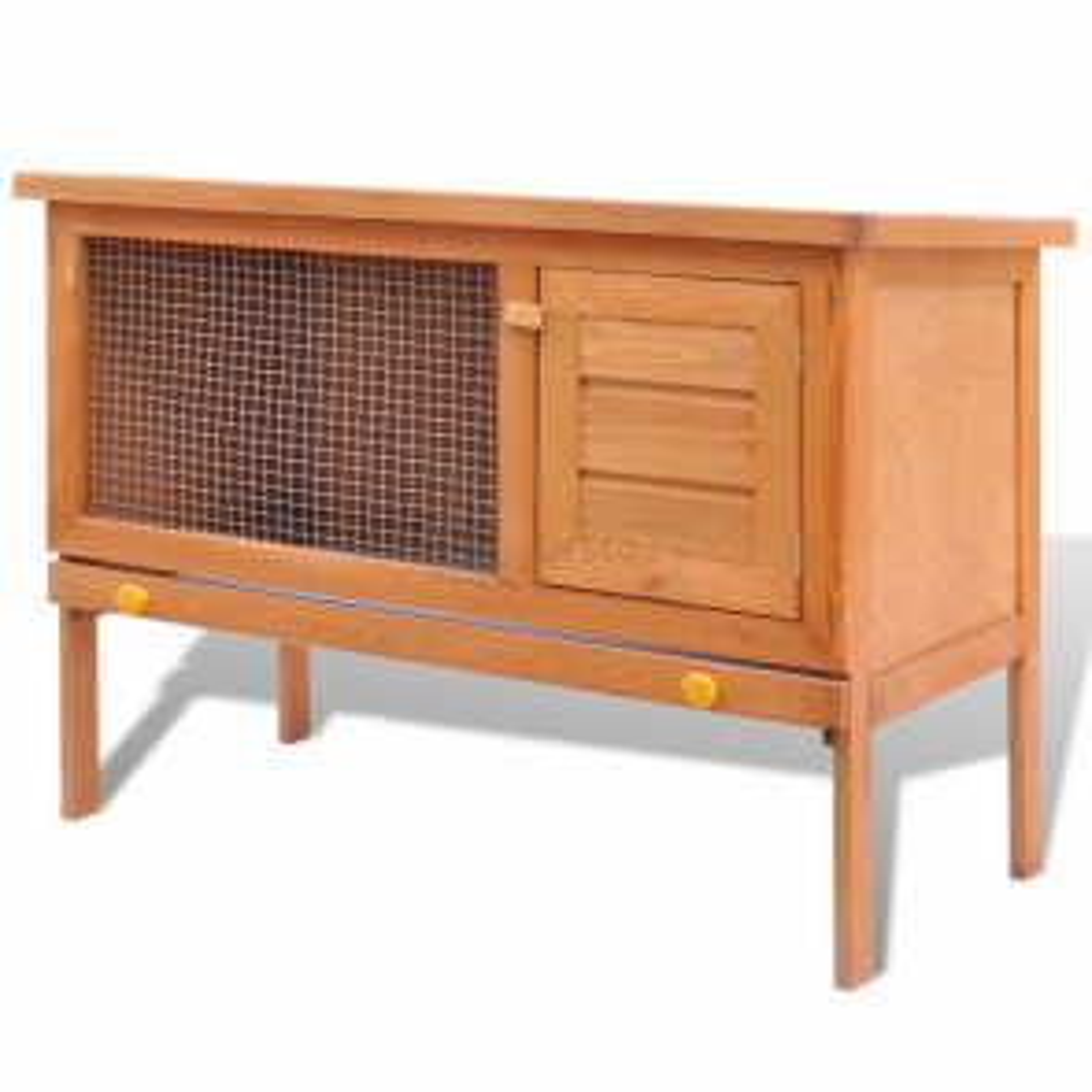 Dřevěná králikárna nebo domek pro drobná zvířata , 1 patro