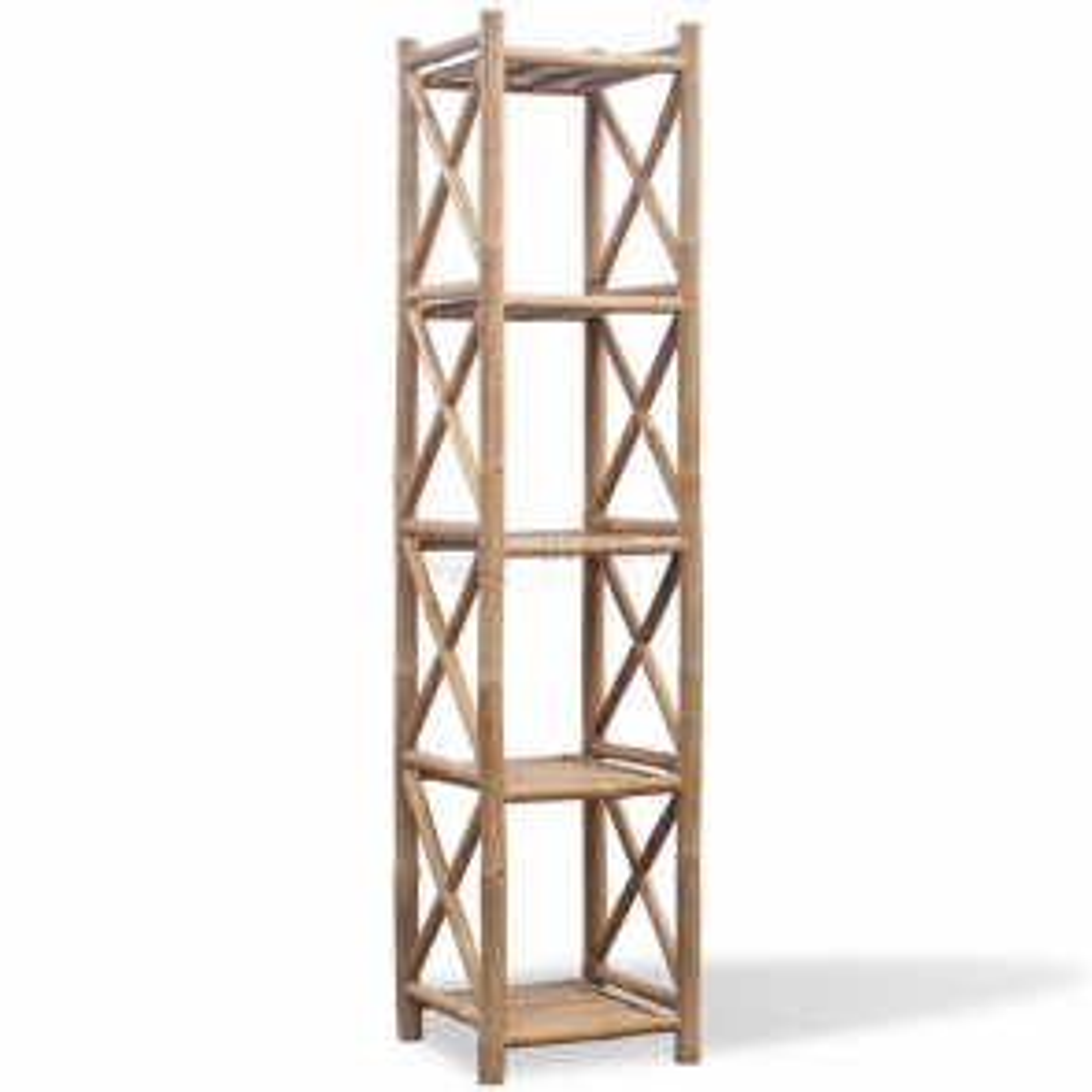 Bambusový regál s 5 poličkami