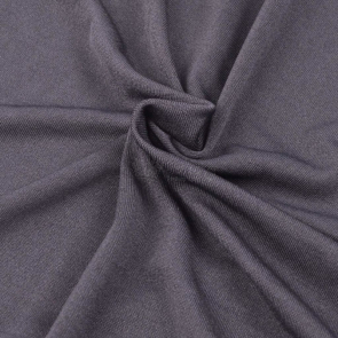 Strečový potah na pohovku antracitový, polyesterový žerzej [131084]