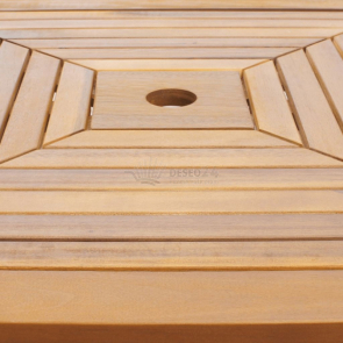 Zahradní barový stůl z akáciového dřeva [42655]