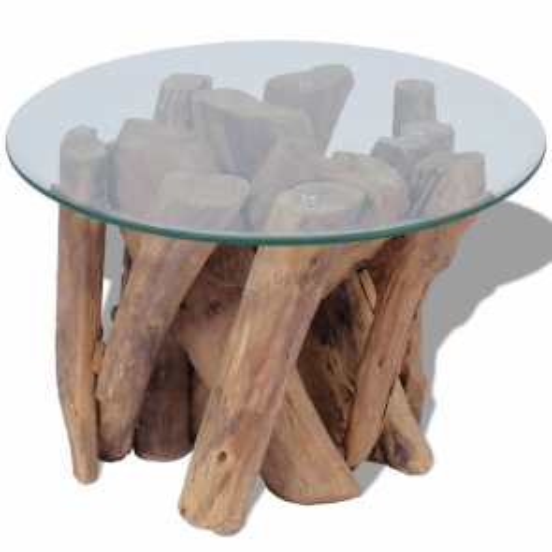 vidaXL Konferenční stolek z masivního teaku 60 cm [243473]