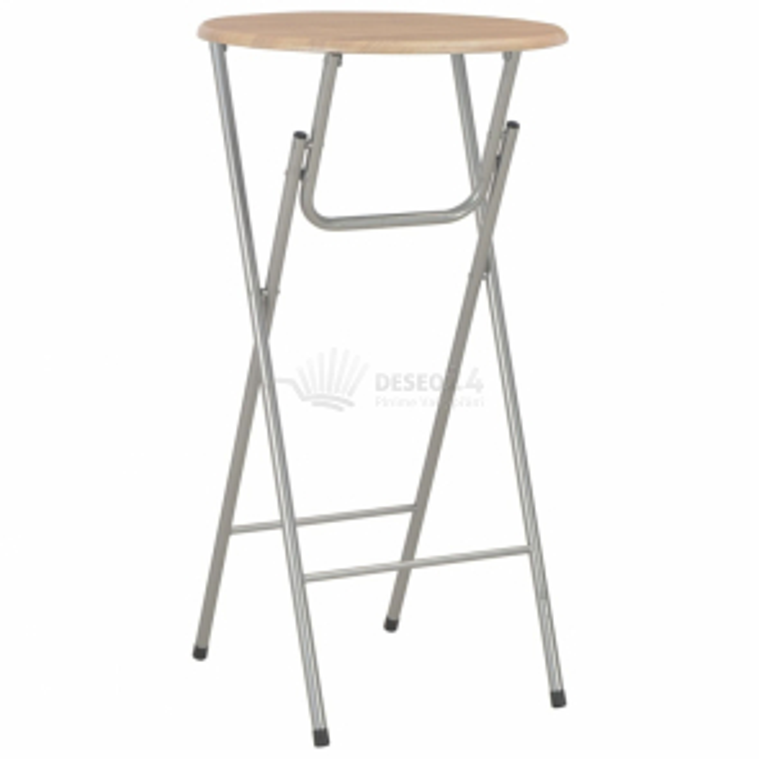 vidaXL Barový stůl dubový odstín 60 x 112 cm MDF [284392]