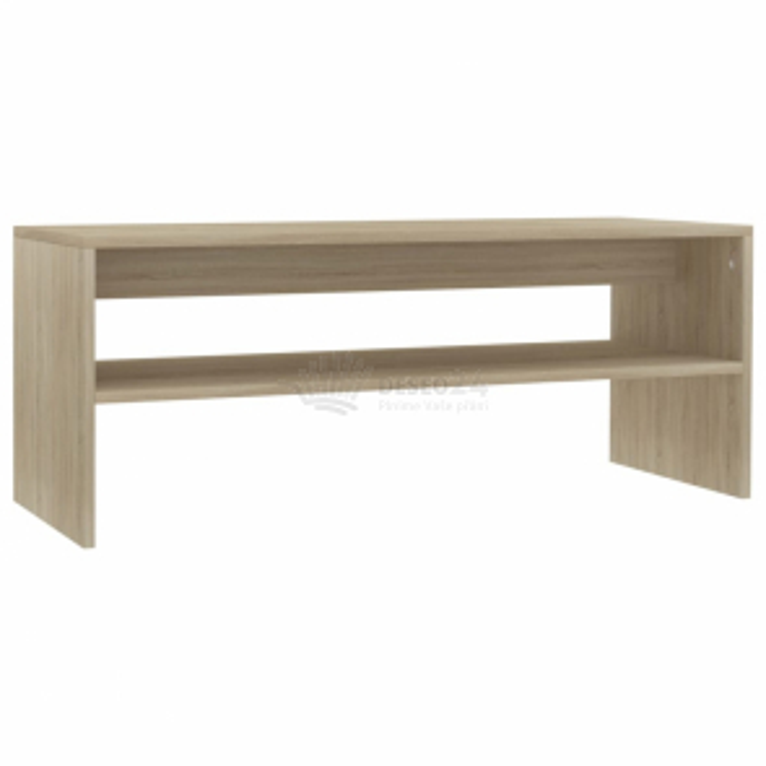 vidaXL Konferenční stolek dub sonoma 100 x 40 x 40 cm dřevotříska [800129]