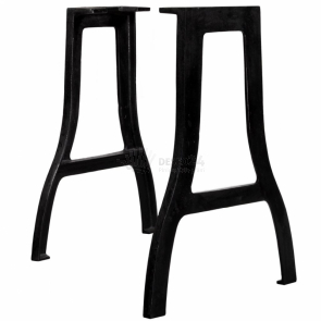 vidaXL Nohy k jídelnímu stolu 2 ks rám do A litinové [245420]
