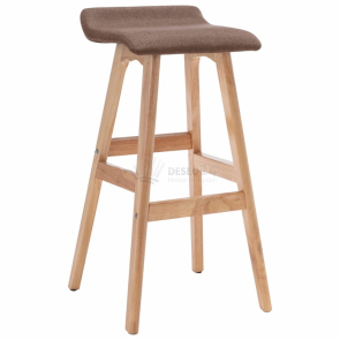 vidaXL Barová židle taupe textil [249576]