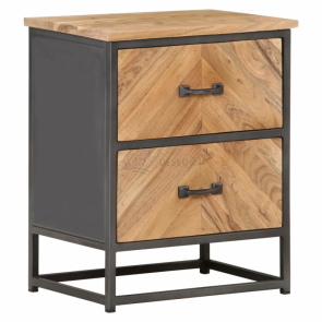 vidaXL Noční stolek 40 x 30 x 50 cm masivní akáciové dřevo [323525]