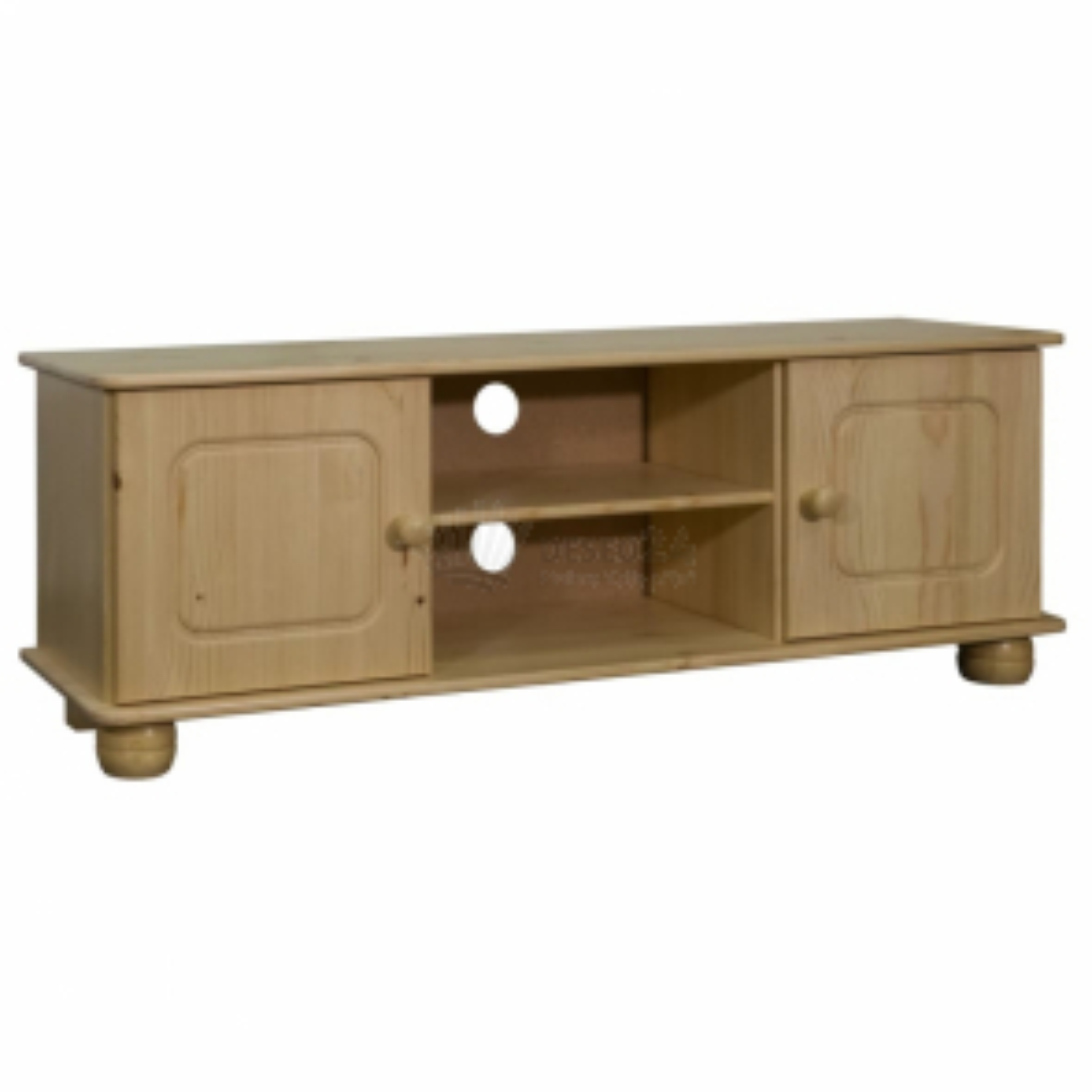 vidaXL TV stolek 115 x 29 x 40 cm masivní borovice [325526]