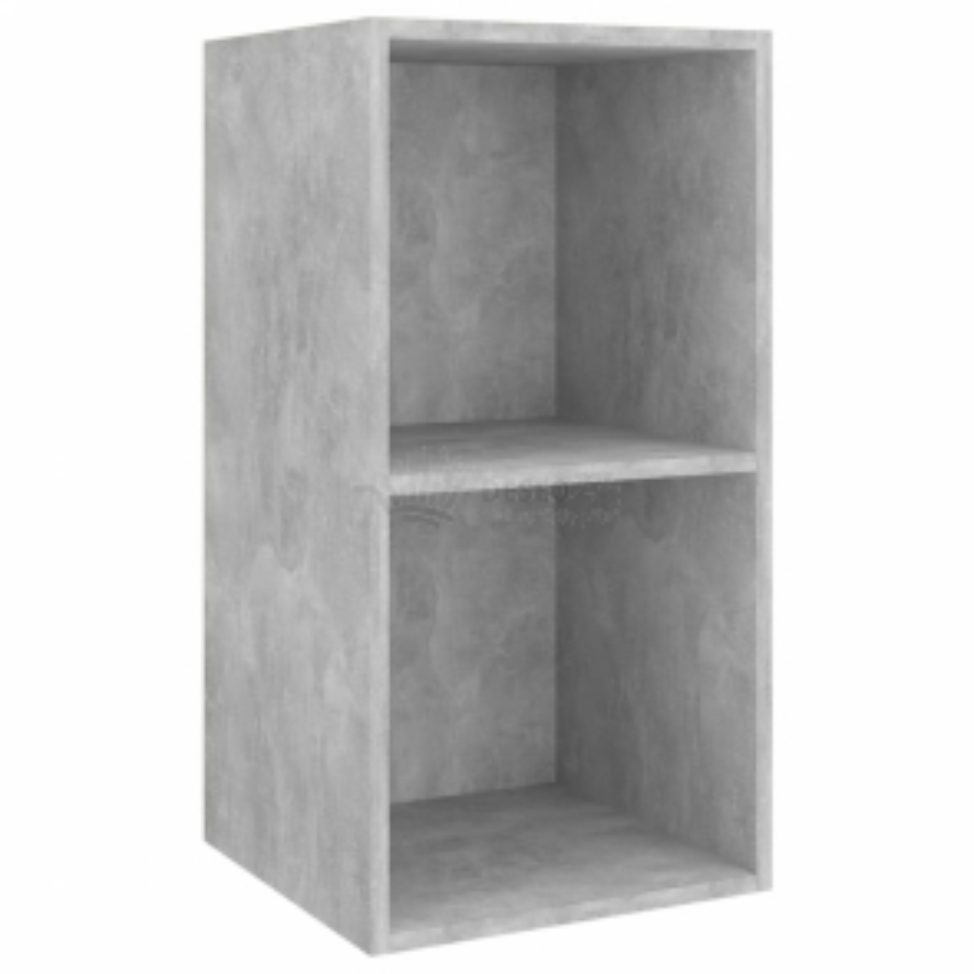 vidaXL Nástěnná TV skříňka betonově šedá 37 x 37 x 72 cm dřevotříska [805475]